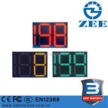 3 Year Warranty LED Timer Traffic Light, 2 and half Digits 3 Colors Traffic Light Timing