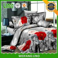 bulk bed sheet /bedspread quilted fabrics/3d bedspread set/dubai bed cover set