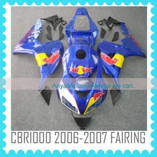 cheap price china factory motorcycle parts for honda cbr1000rr 2006 2007 Injection molding ABS Fairing Kit
