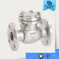ANSI Swing Check Valve with flange ends high quaity from yuanda group