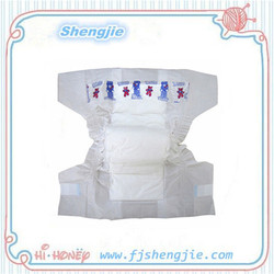 Super high quality of the S cut elastic baby diaper, Sleepy baby diapers