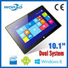 "Android 4.4 Win8 Dual OS Support Intel Baytrail 10.1"" Tablet PC 2GB+32GB"