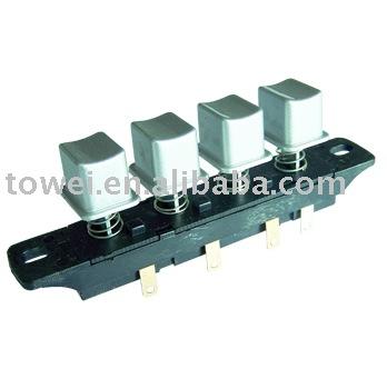 4 position debout ventilateur push button switch