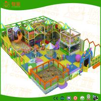 Fantastic colorful designing of indoor soft playground