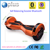 Beautiful design 2 wheel smart self balancing board scooter electric standing audlt electric scooter with LED speaker