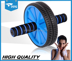 Workout ab roller exercise wheel/ab wheel/double ab wheel for gym exercise fitness