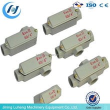 Small electric outlet junction box