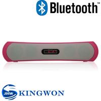 Kingwon active mini bluetooth super bass portable speaker for FM/USB/TF/phone/mp3/mp4/tablet pc/laptop/microphone