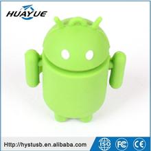 Cartoon Style Silicon USB Flash Drive 2GB 4GB 8GB 16GB 32GB