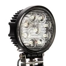 auto led work light new 27w car led tuning light/led work light wholesale