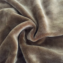polyester spandex velour fabric for slipper,winter shoes