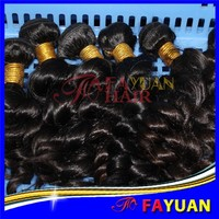 Fayuan7a top grade wholesale good hair virgin brazilian and peruvian hair