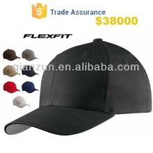 Custom Design Blank Spandex Cotton Flexfit Baseball Hat Customized Hat