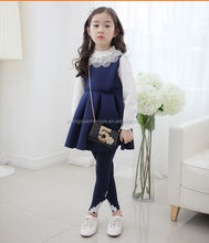 Top level latest little girls dress suits