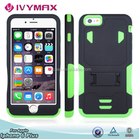 Wholesale! Accesories para celular armor combo case for iphone6 plus with stents