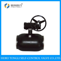 High Quality Gear Operated All Welded Ball Valve DN300