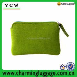 small felt animal zipper coin purse wholesale