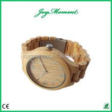 2015 Hot Custom Original Natural Bamboo Watch