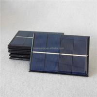 Customized 0.5w 1w 1.5w 2w 3w epoxy solar panel 1W 2V 70*100mm applied for mini solar systems small solar panel