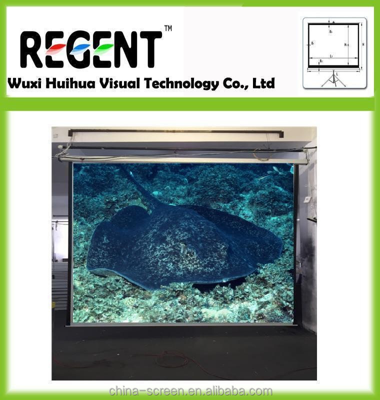 100inch 4 3 Motorized Electric Projector Screen Special