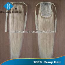 Cheap Natural Body Wave Hair 100% Human Remy Hair Ponytail