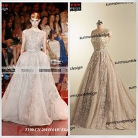 Real Pictures Soft Tulle Beaded Floor Length Lace Alibaba China Wedding Dresses