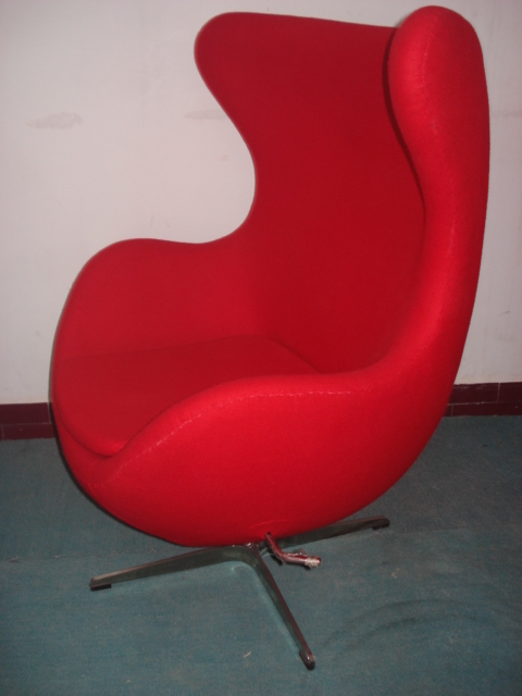 Ergonomic arne jacobsen design chaise lounge chair with for Chaise jacobsen