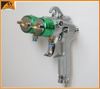 2015 chrome paint 93 electrostatic painting equipment double nozzle spray gun
