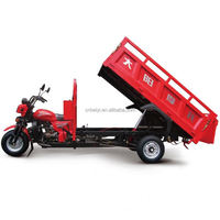 Made in Chongqing 200CC 175cc motorcycle truck 3-wheel tricycle 200cc hydraulic cargo tricycle for cargo