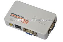 high resolution VGA to av/rca/svideo Converter
