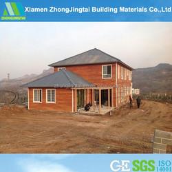 galvanized steel layout wooden house prefab home floor plans