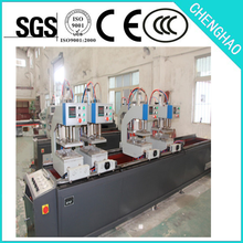 Four Head Upvc Window Automatic Welding Machine , PLC control