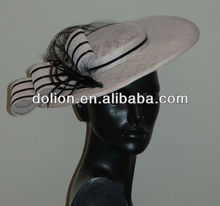 Big Sizes Pain Fascinator Sinamay Base Hats