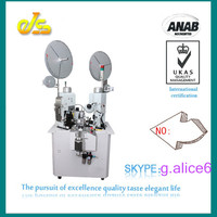 JS-4000 Japan OMR system cable wire finishing crispen machine cable making equipment