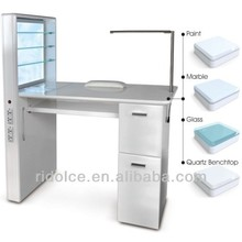 Nail Table manicure table used nail salon furniture nail technician tables TKN-D103