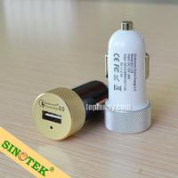 SINOTEK logo free quick charging 2.0 DC 9V/12V 2A output custom usb car charger