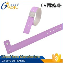 17 years manufacture experience excellent price party id bracelet plastic