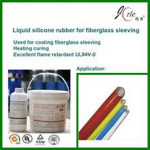 liquid silicone rubber for fiberglass sleeve coating manufacture in shanghai