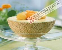 Fresh cantaloupe flavour