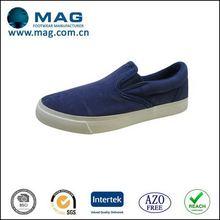 Alibaba china stylish navy canvas sneakers