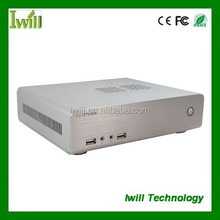 Mini aluminum computer chassis HT60 itx industrial pc case
