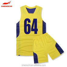 New fashion sleeveless basketball teams uniform athletic basketball jerseys wear