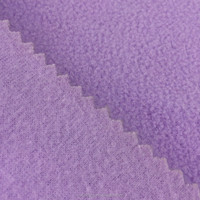150d drapery soft anti pilling polyester heavy polar fleece fabric