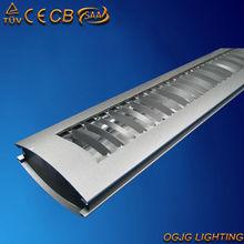 1.2 m parrilla luminaria accesorios de iluminación, comercial luminarias