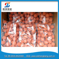 Putzmeister Schwing pipe cleaning rubber sponge ball for sale