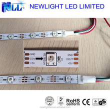 2015 new products best quality WS2812B addressable RGB led strip for car beauty