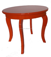 Colorful wood side table (end table)