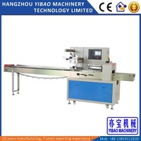 Horizontal Disposable Plastic Cutlery Packing Machine