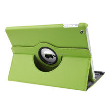 360 degree rotation case for ipad mini 4 back cover / multi-color pu leather cover case for ipad mini stand case
