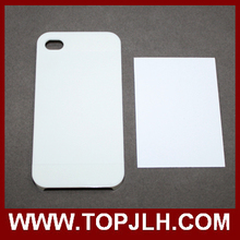 Metal Adhensive Sublimation Case for iPhone 4